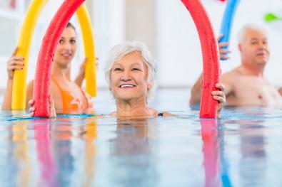 Wassergymnastik für Senioren